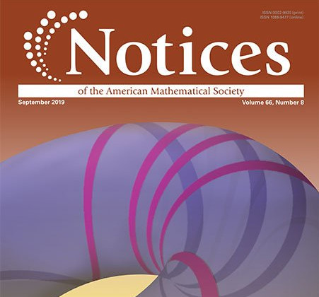 [AMS Notices Cover, Sept 2019]