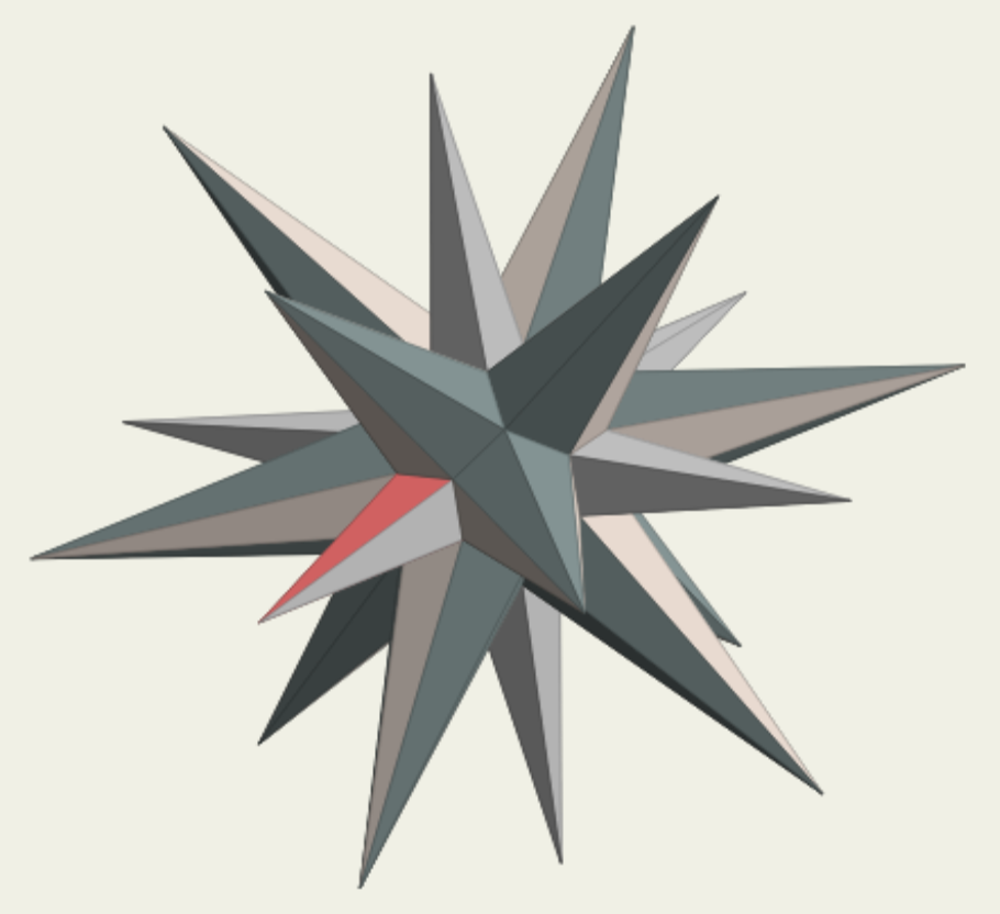 [a stellated   near-miss solid]